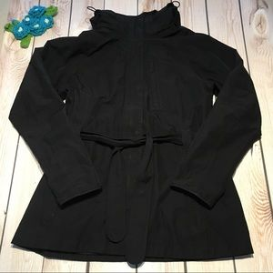 The North Face women's hyvent rain trench coat